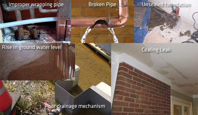 Reasons for slab leak