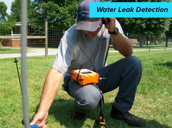 Water Leak Detection without the Need of Excavation